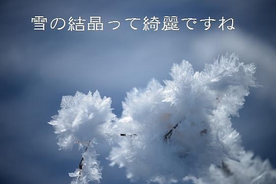 雪の結晶って綺麗