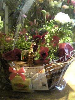 誕生祝いの花