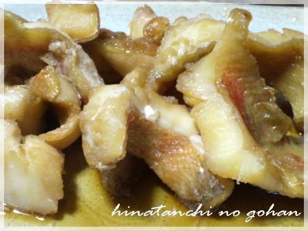 20111128赤魚煮
