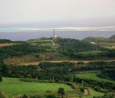 宇江城城跡から見る景色