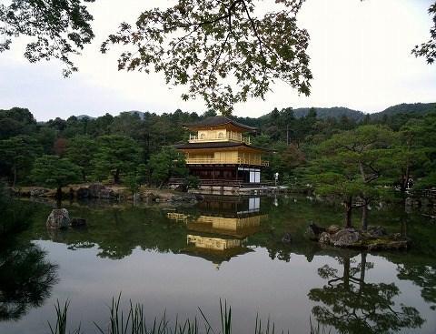 京都、金閣寺