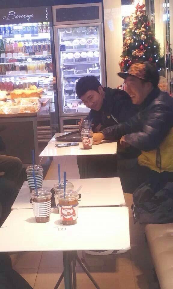 131216 SungGyu filming Running Man 2