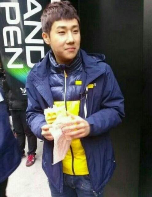 131216 SungGyu filming Running Man 5