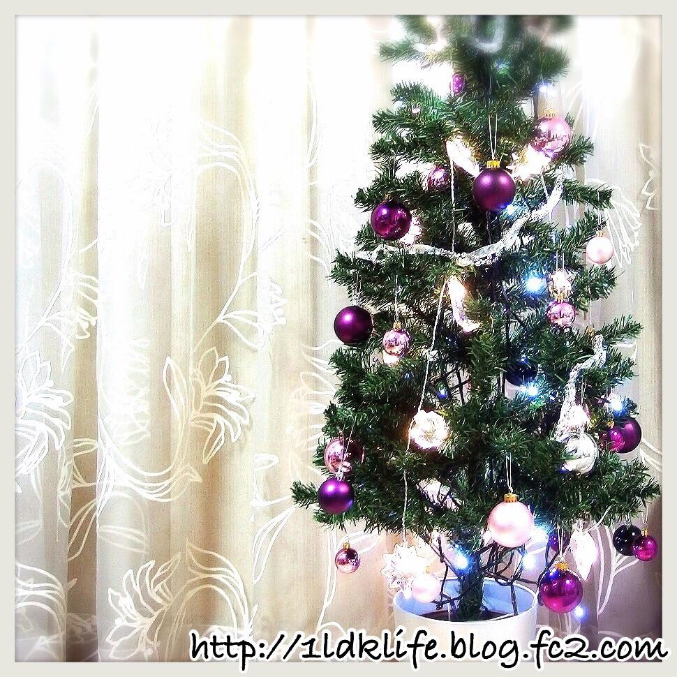 我が家のクリスマスツリー。の、全貌。2014。