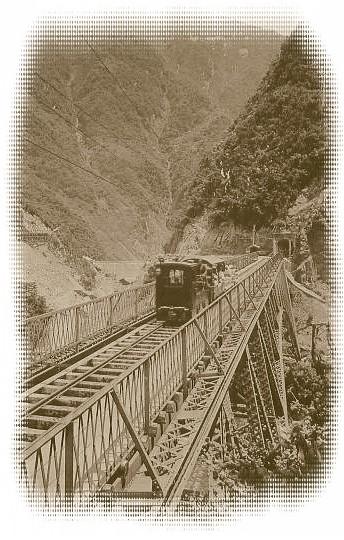 0404000-t0 黒部橋上の日電軌道