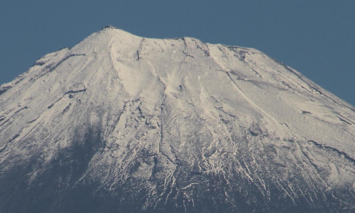 富士山隠れスポット頂上