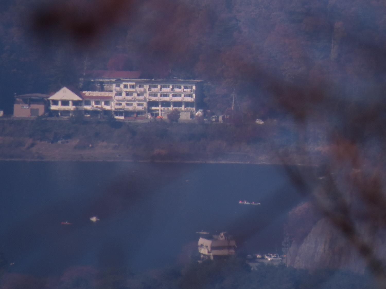 富士山隠れスポット精進湖