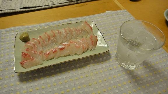 鯛(小)刺身