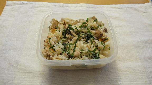 2011.10.8 鯵飯