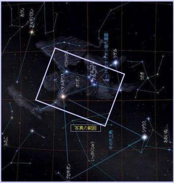 オリオン座の図解
