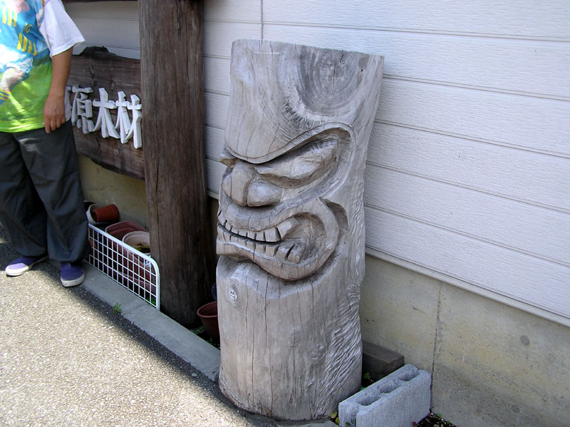 exotica tiki statue