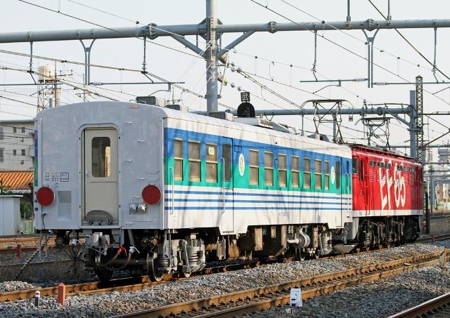 キハ37-1002+EF65-1118