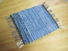 手織りコースター (4)
