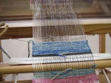 手織りコースター (1)