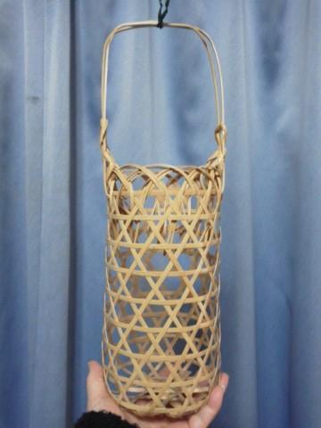体験●竹かご編み の花器 (4)