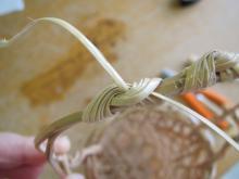 体験●竹かご編み の花器 (3)