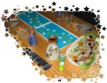 20100707 テーブルの上の 天の川☆彡 (1)