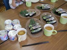 20110426 こいのぼり飾り巻き寿司 (6)