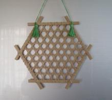 竹の葉書額 (5)
