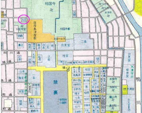 入江家地図