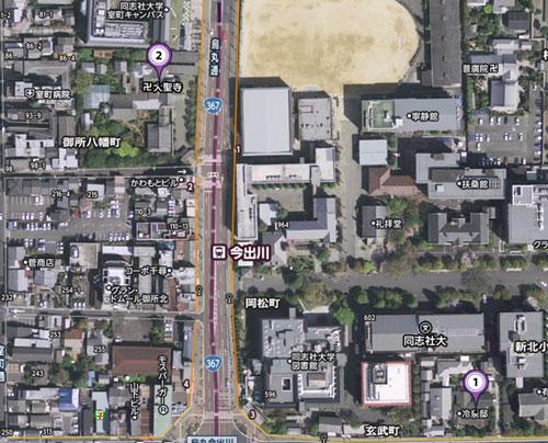 大聖寺門跡地図