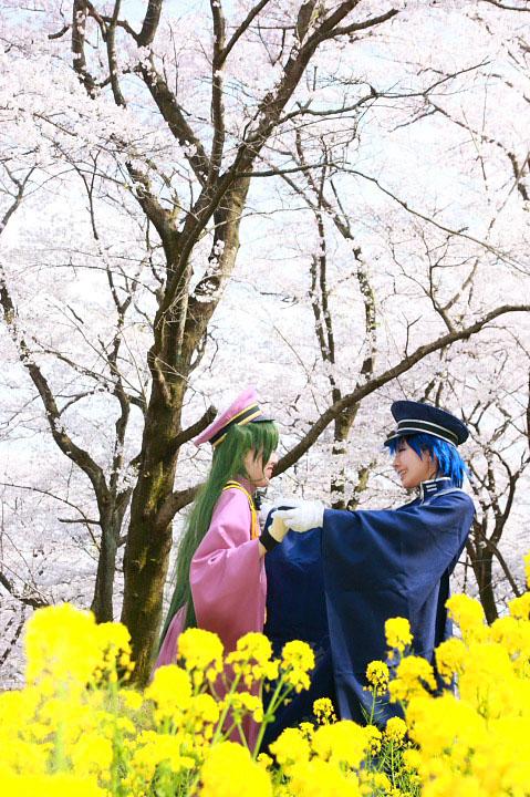 VOCALOID/初音未来・海斗/千本桜/コスプレ写真