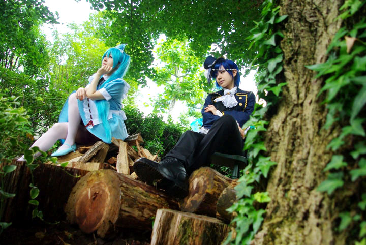 VOCALOID/Alice in Musicland/初音ミク・KAITO/コスプレ写真
