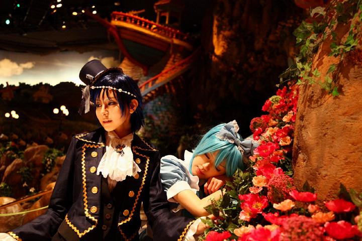 VOCALOID/HatsuneMiku&KAITO/Alice in Musicland/Cosplay