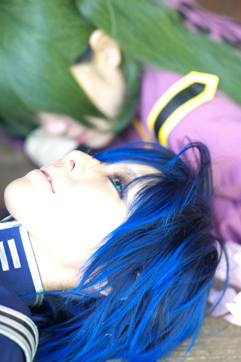 VOCALOID/千本桜/KAITO・初音ミク/Cosplay