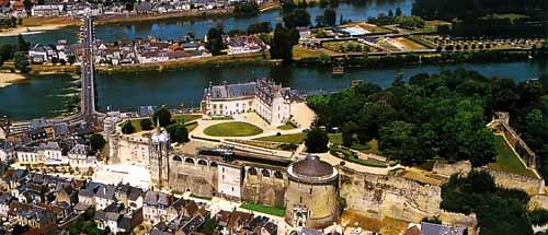 アン城の全景