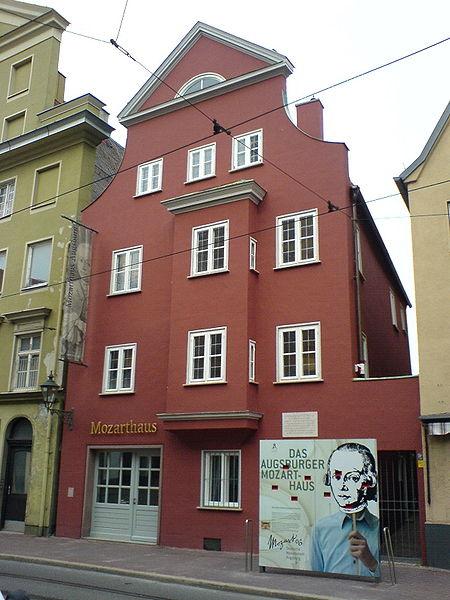 モーツアルトの父の生家