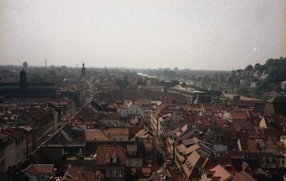 城からの景色