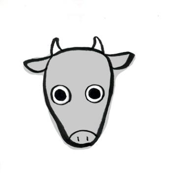 大威徳明王の牛