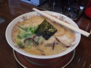 3/13 豚骨塩ラーメン 哲麺