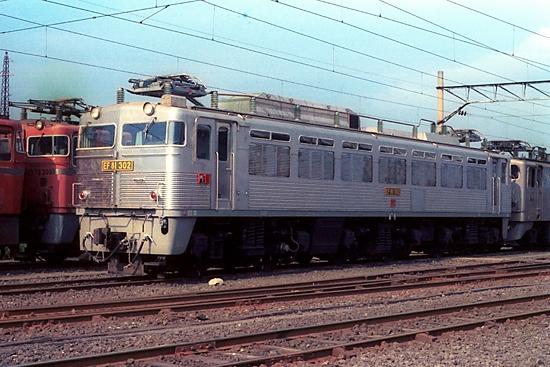 国鉄時代のEF81302
