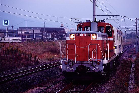 キハ52廃車回送