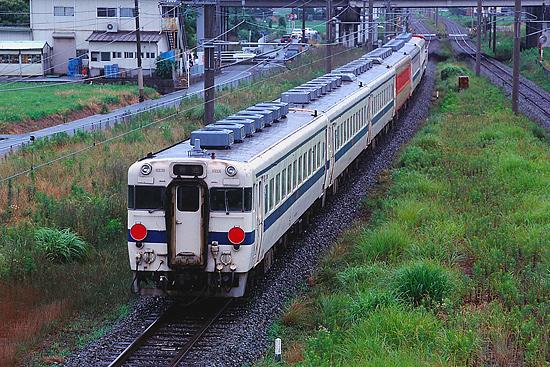 キハ58系廃車回送