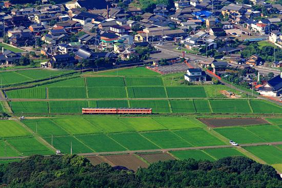 竹の古場公園俯瞰