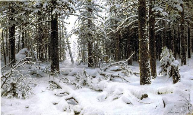 イヴァン・シーシキン 冬