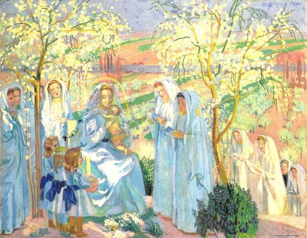 聖母月-あるいは春の風景の中の聖母