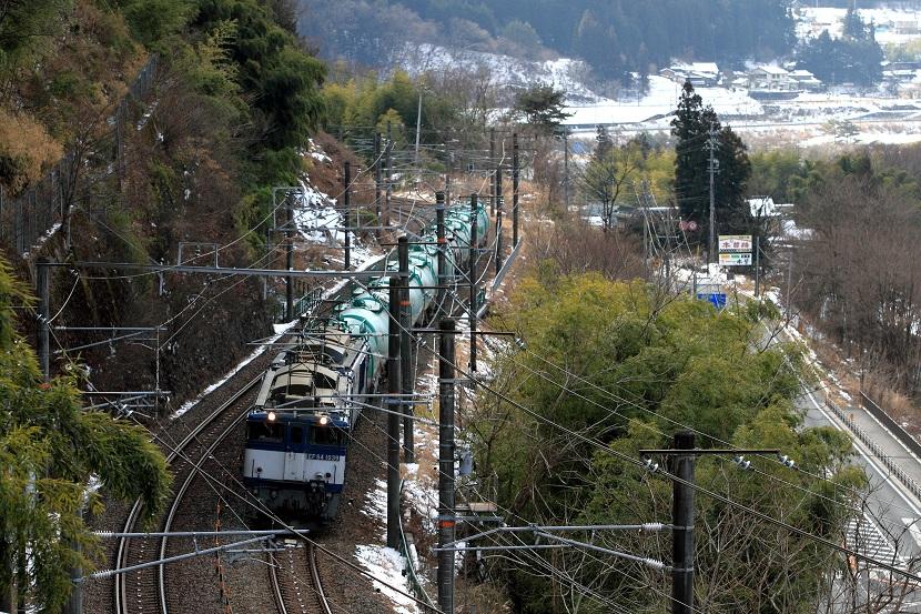 木曽を行く・・そんな雰囲気を撮りたいんだけどねぇ~?