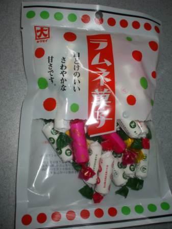 カクダイ製菓ラムネ菓子
