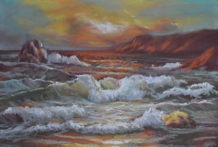 mimic painting ocean