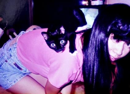 mimi on my back