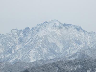 北アルプス 剣岳 早月尾根