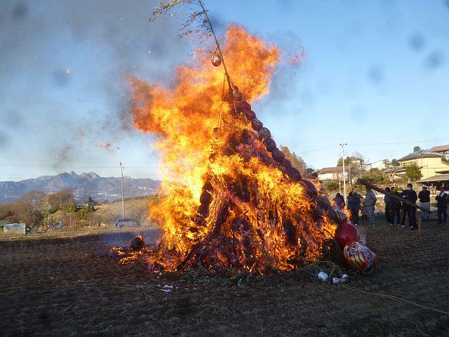 火の巨人が・・・