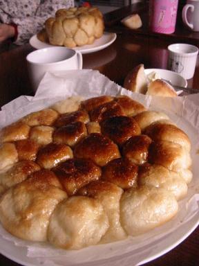 モンキーブレッドフライパン焼き試食