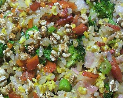 12-16野菜60%焼き飯のランチ