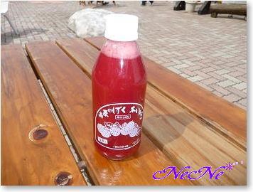 木苺のジュース