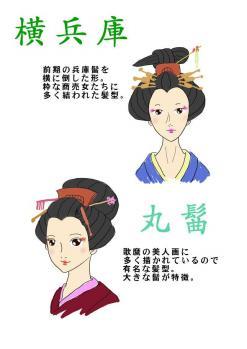 江戸時代中期髪型